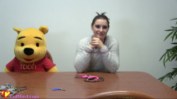 Cuffing Pooh