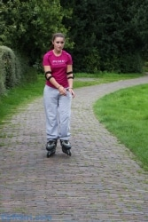 Rollerblading in S&W 100