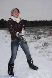 Snow is fun!!