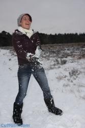 Snow is fun!!