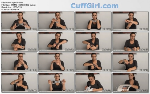 video diary: Lips handcuffs