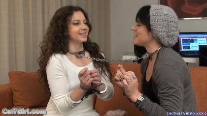 Neck cuffed to Anahi