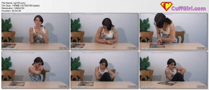 Webcam video of me explaining Irish 8 handcuffs