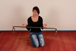 Spreader bar and handcuffs
