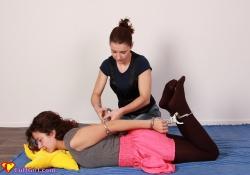 Elbow hogcuffing tutorial