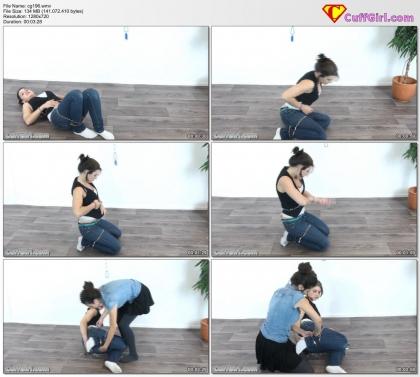 Tough handcuff challenge