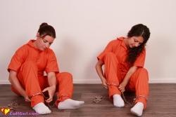White sock prison self hogcuff