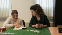 Poker in handcuffs