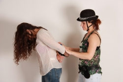 Arresting my friend Anahi