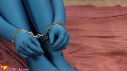 Catsuits and cuffs