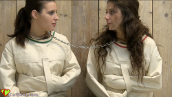 Straitjackets and neck cuff